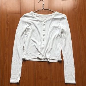American Eagle Soft and Sexy Ribbed Long Sleeve
